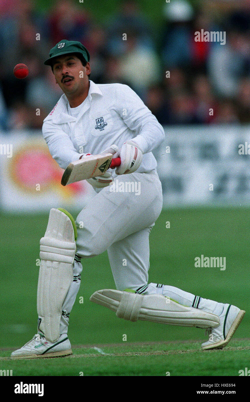 DAMIAN D'OLIVEIRA WORCESTERSHIRE CCC 25 June 1991 - Stock Image