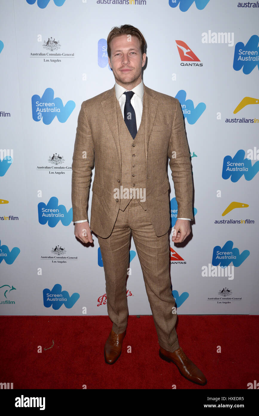 Screen Australia and Australians In Film reception for Australian Oscar Nominees at Four Seasons Hotel Los Angeles - Stock Image