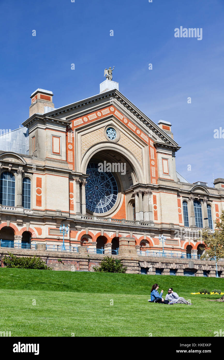 Alexandra Palace in London, England. - Stock Image