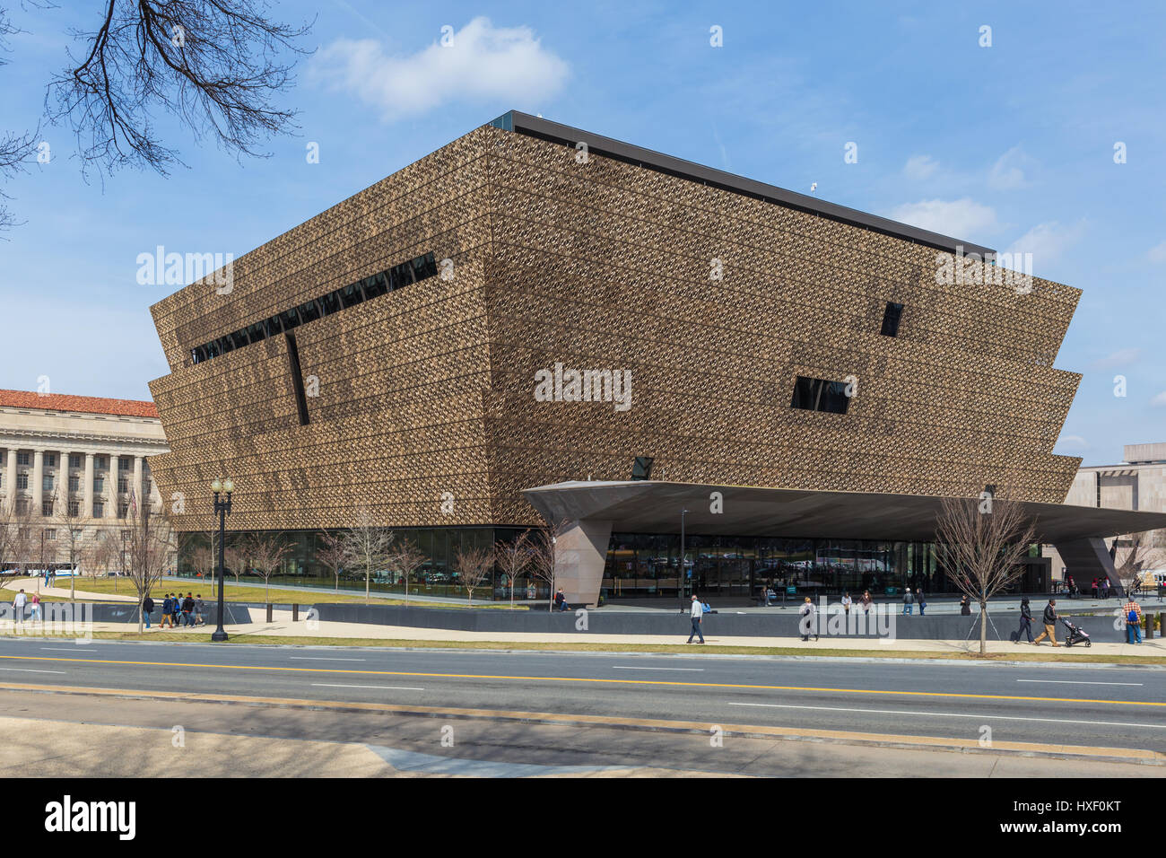 The Smithsonian National Museum of African American History and Culture (NMAAHC) in Washington, DC. - Stock Image