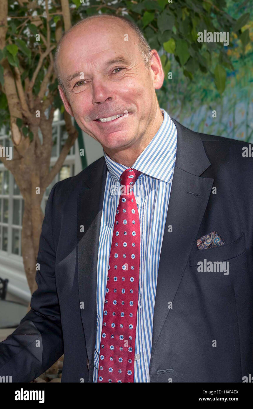 Sir Clive Woodward. - Stock Image