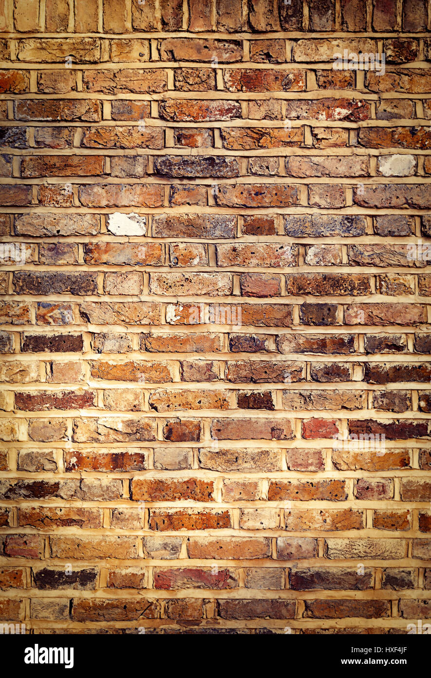 Industrial Brick Wall Best Background Texture Close Stock
