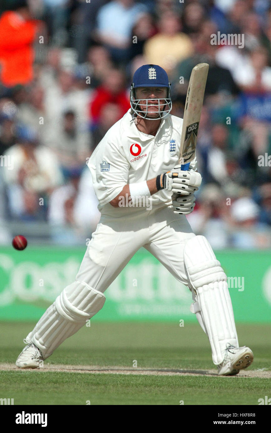 ALEC STEWART ENGLAND & SURREY CCC THE RIVERSIDE CHESTER LE STREET CO DURHAM 06 June 2003 Stock Photo