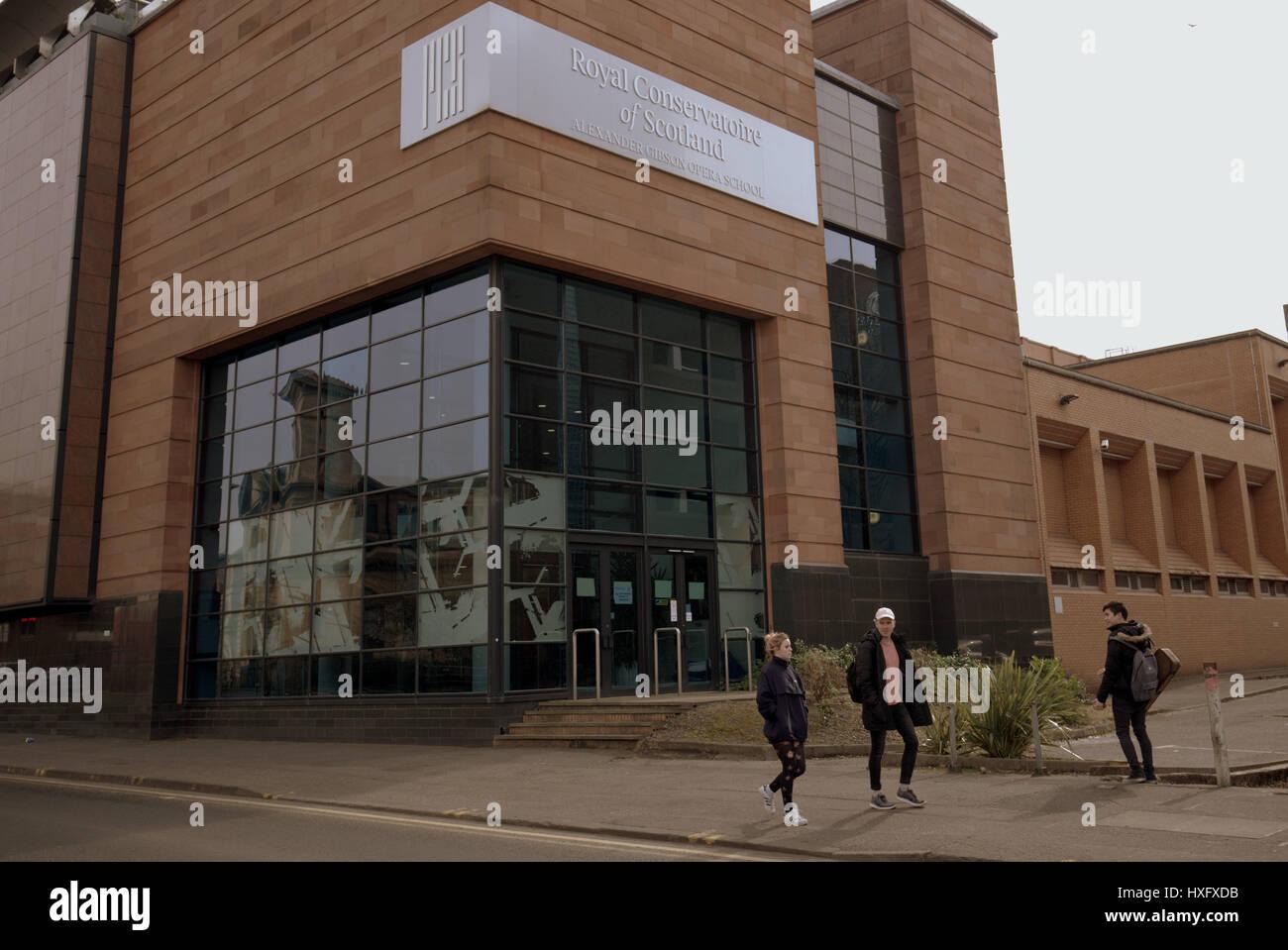 Royal Conservatoire of Scotland Glasgow - Stock Image