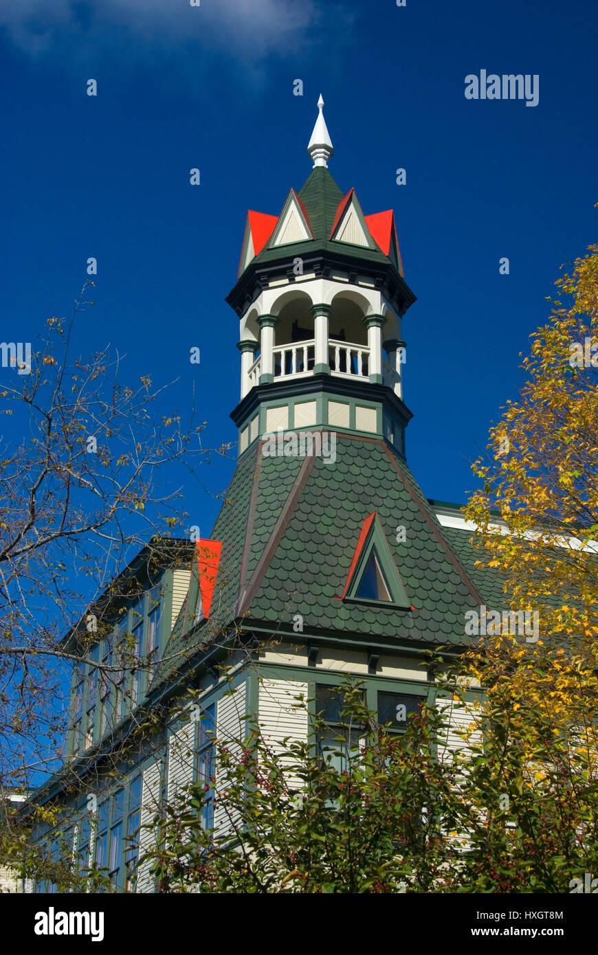 Debevoise Hall steeple, Vermont Law School, South Royalton