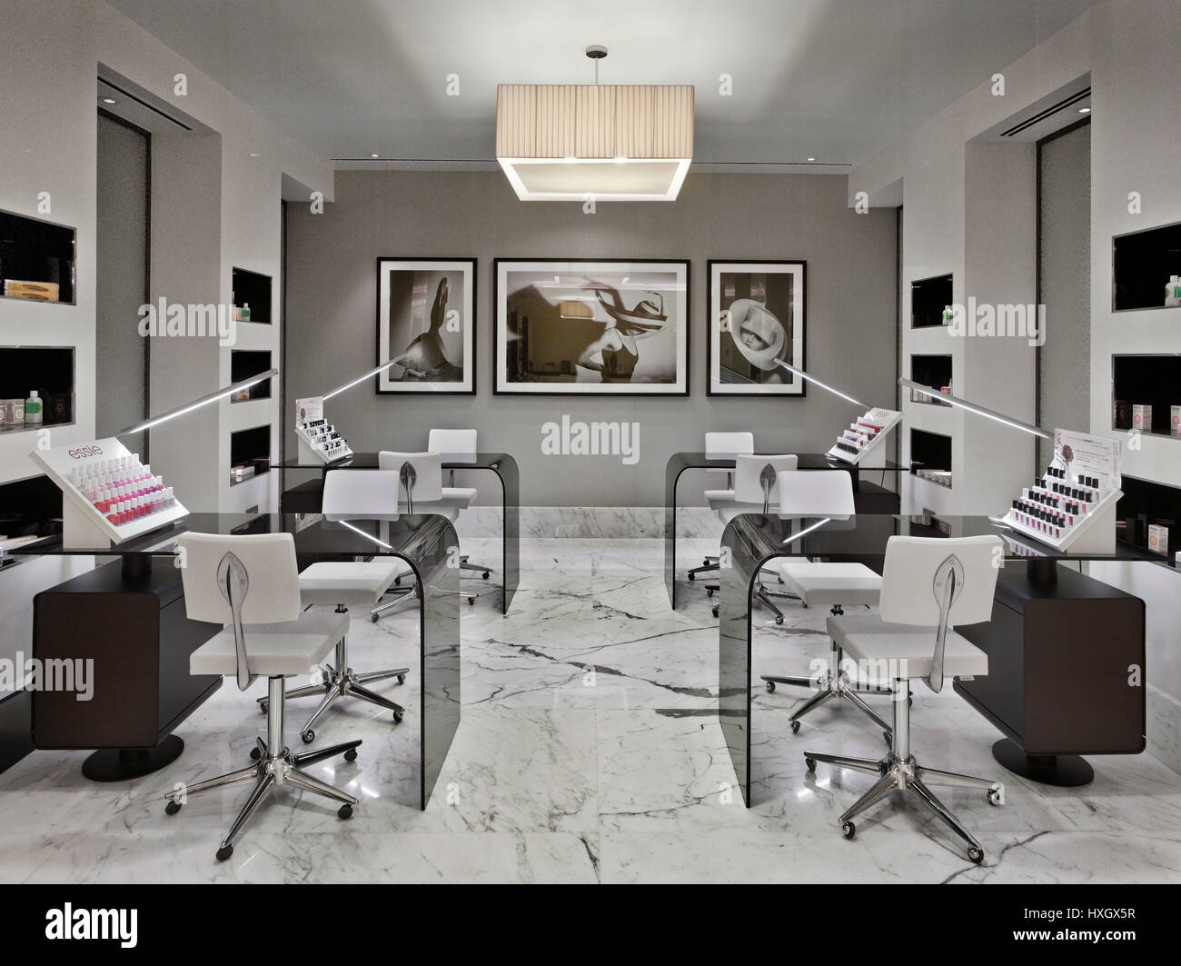 Beauty Salon In A Luxury Hotel In Moscow Stock Photo 136825411 Alamy