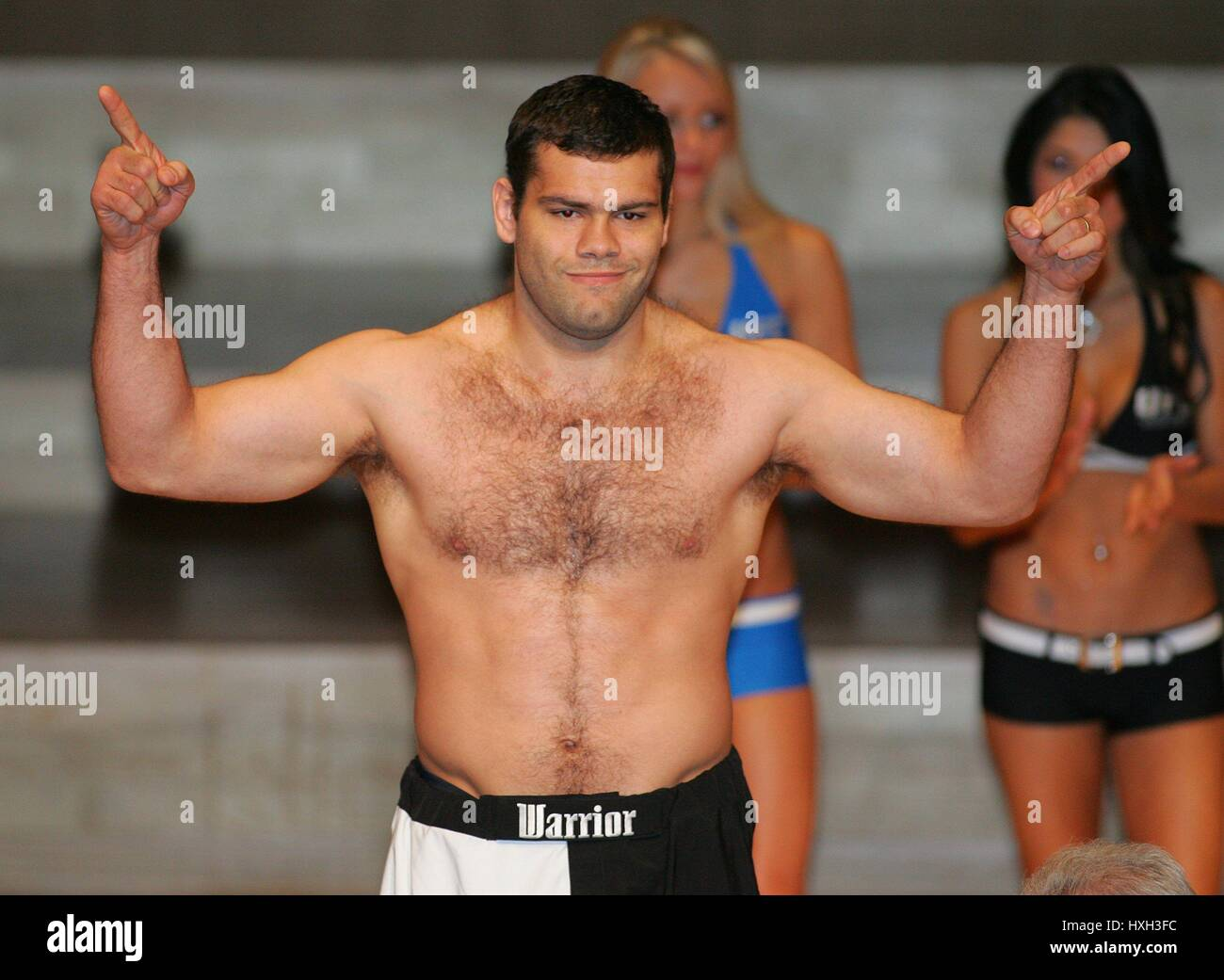 GABRIEL GONZAGA UFC HEAVY WEIGHT FIGHTER MANCHESTER  ENGLAND 20 April 2007 - Stock Image