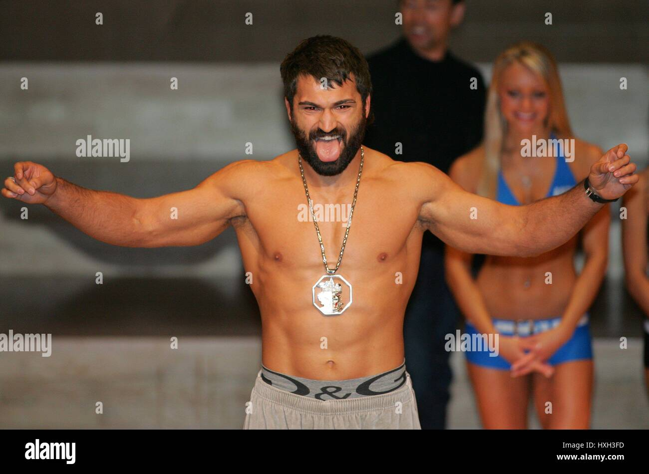 ARDRIE ARLOVSKI UFC HEAVY WEIGHT FIGHTER MANCHESTER  ENGLAND 20 April 2007 - Stock Image