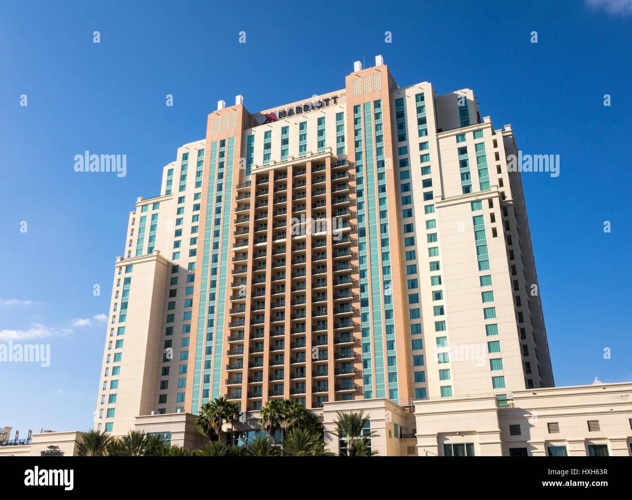 Marriott Hotel, Tampa, Florida, USA Stock Photo
