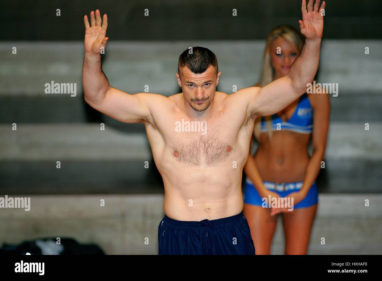 MIRKO CRO COP FILIPOVIC UFC HEAVY WEIGHT FIGHTER MANCHESTER  ENGLAND 20 April 2007 - Stock Image