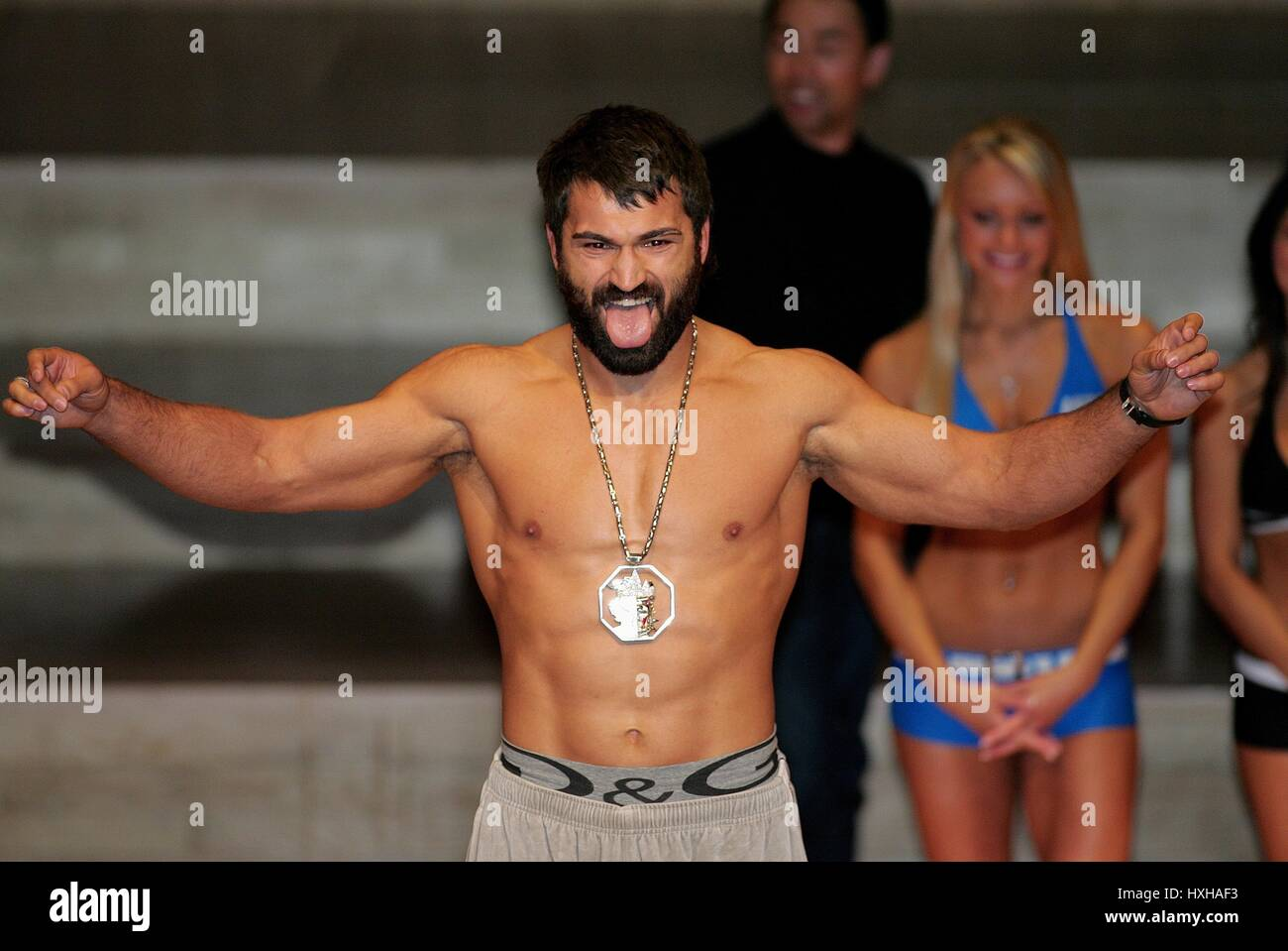 ARDREI ARLOVSKI UFC HEAVY WEIGHT FIGHTER MANCHESTER  ENGLAND 20 April 2007 - Stock Image