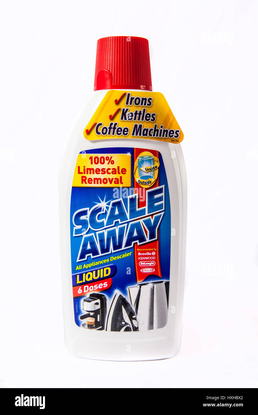 Scale Away, Limescale Remover - Stock Image