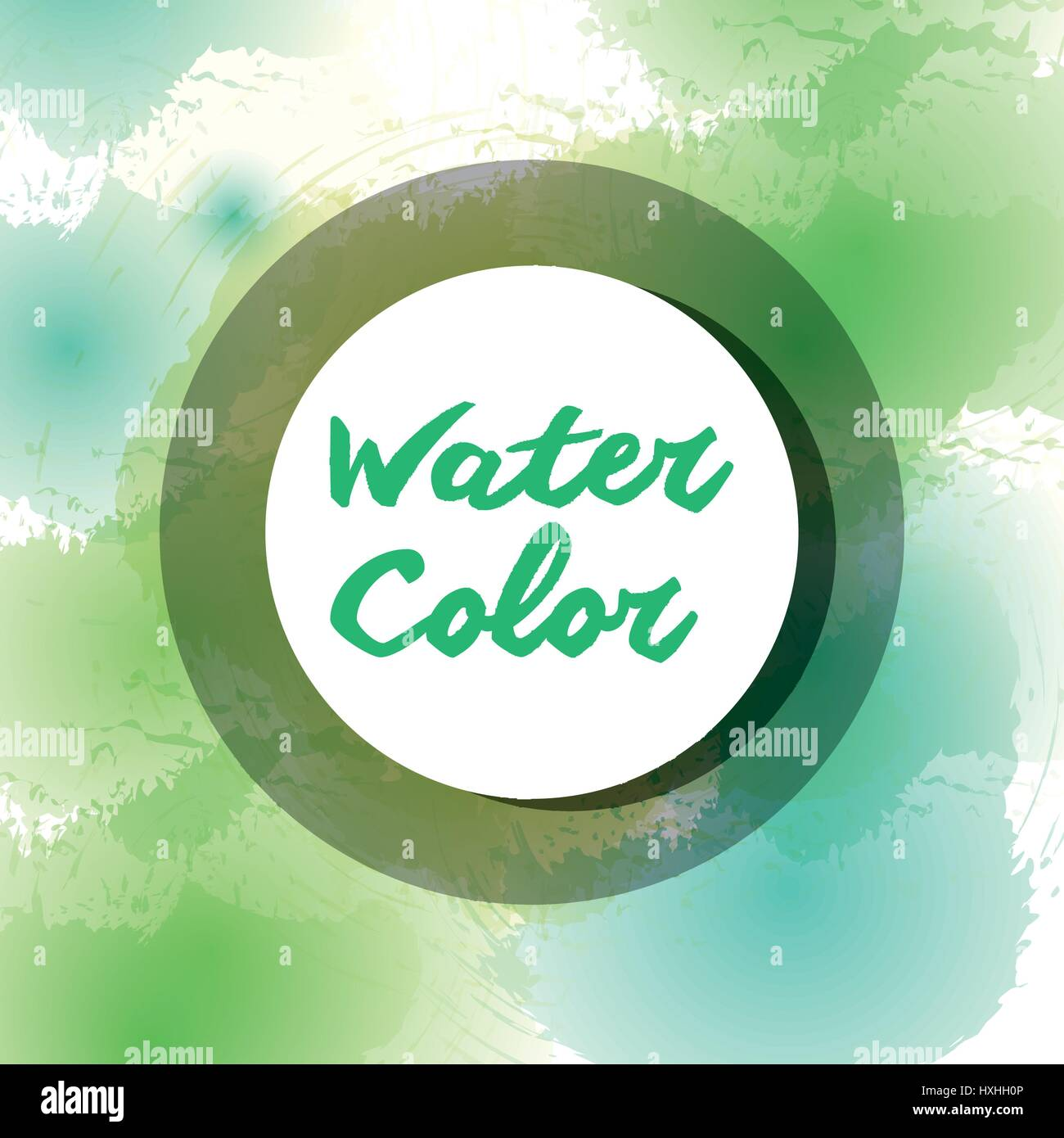 colors watercolor art paint Stock Vector
