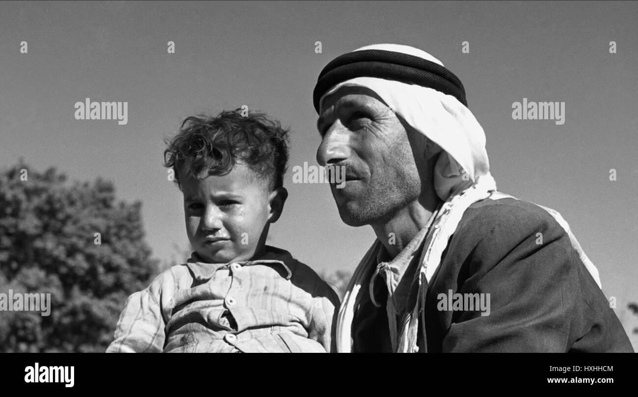 ARAB WITH CHILD THE ZIONIST IDEA; COLLIDING DREAMS (2015) - Stock Image