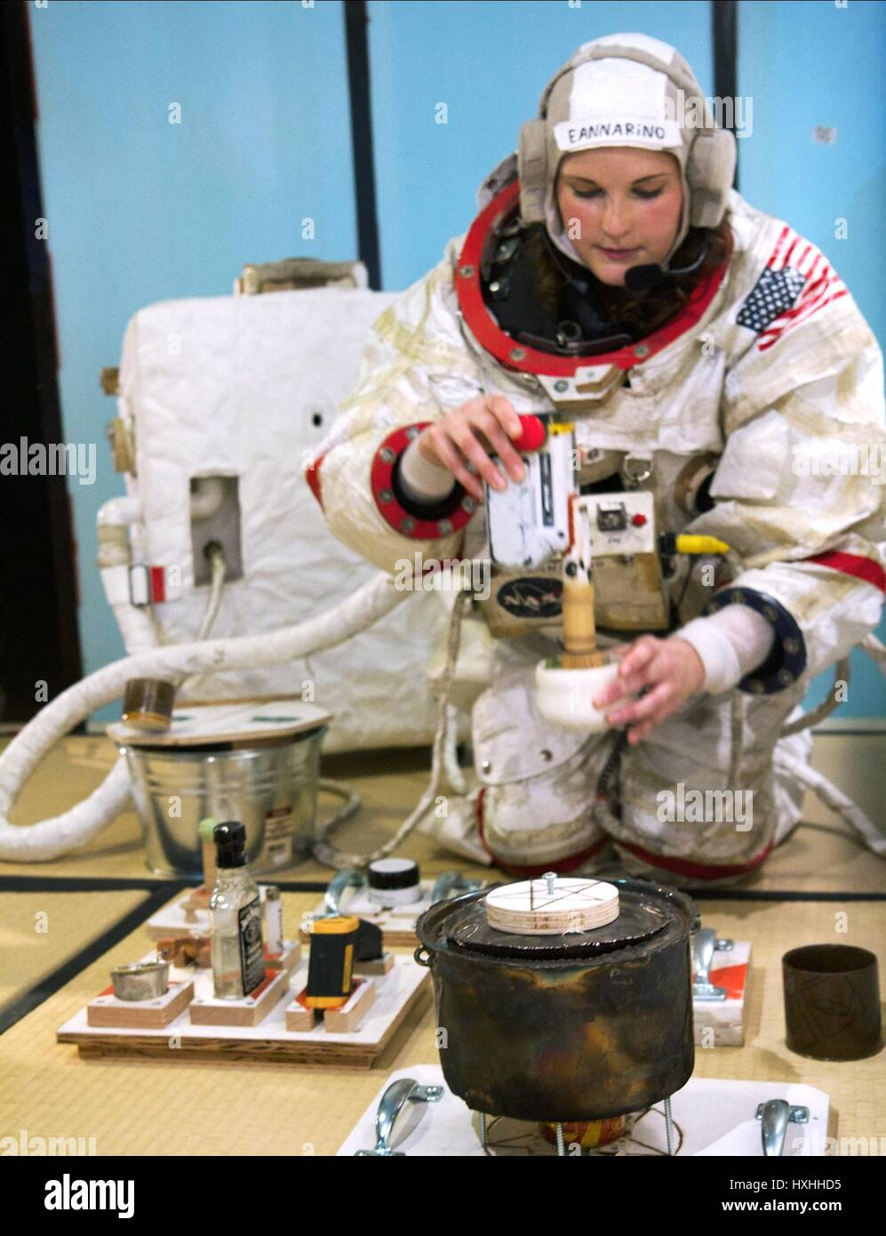 CDR. MARY EANNARINO A SPACE PROGRAM (2015) - Stock Image
