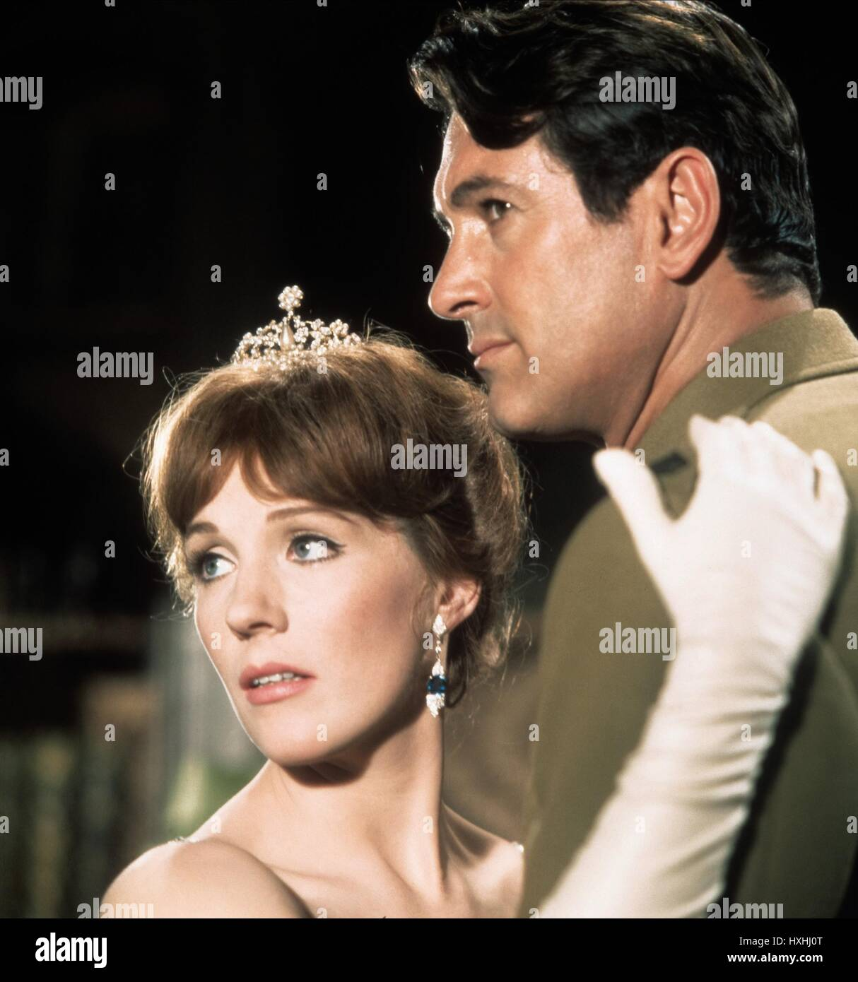JULIE ANDREWS, ROCK HUDSON, DARLING LILI, 1970 - Stock Image