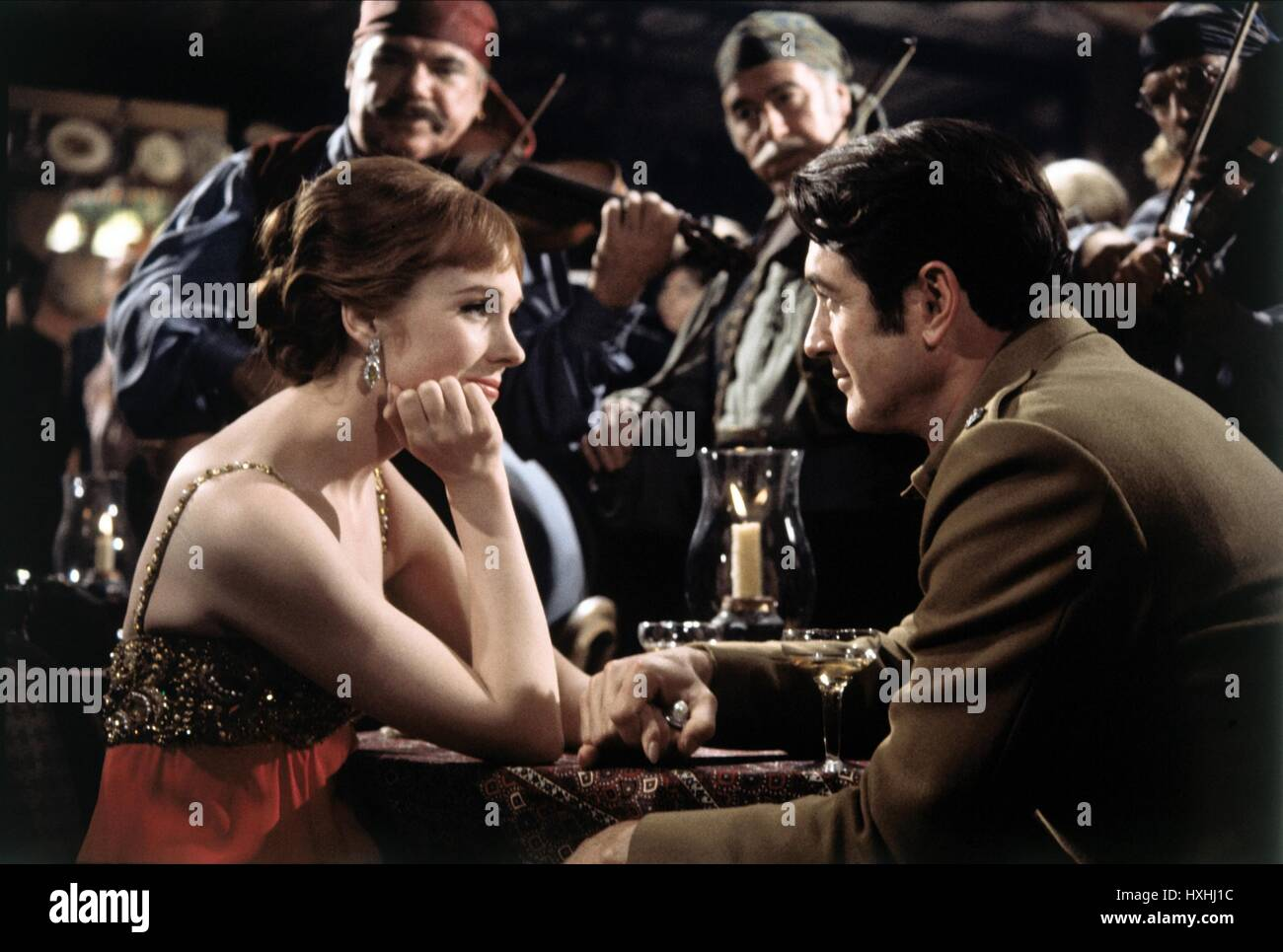 JULIE ANDREWS, ROCK HUDSON, DARLING LILI, 1970 Stock Photo