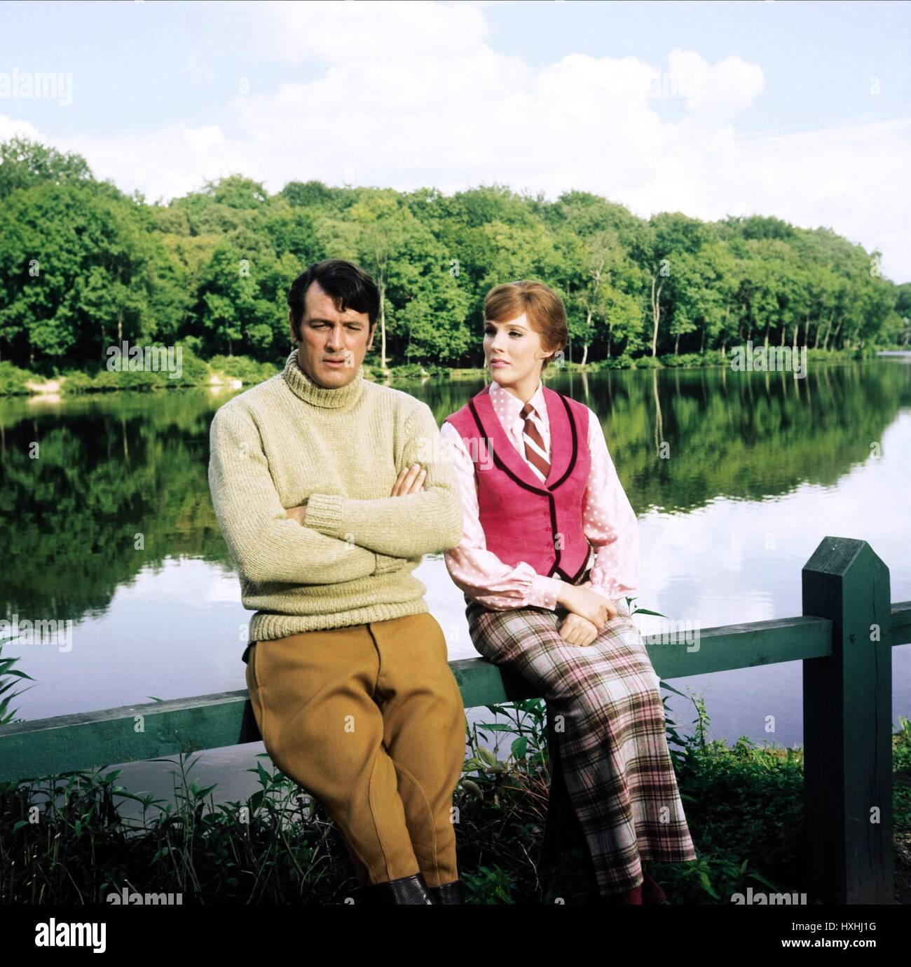ROCK HUDSON, JULIE ANDREWS, DARLING LILI, 1970 - Stock Image