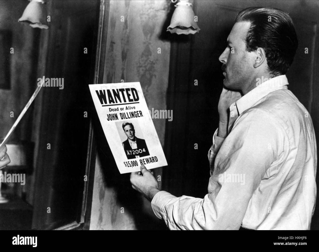LAWRENCE TIERNEY DILLINGER (1945) - Stock Image