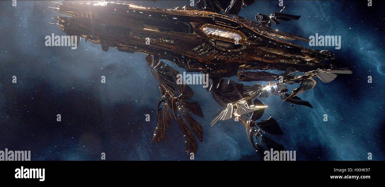 SPACECRAFT JUPITER ASCENDING (2015) - Stock Image