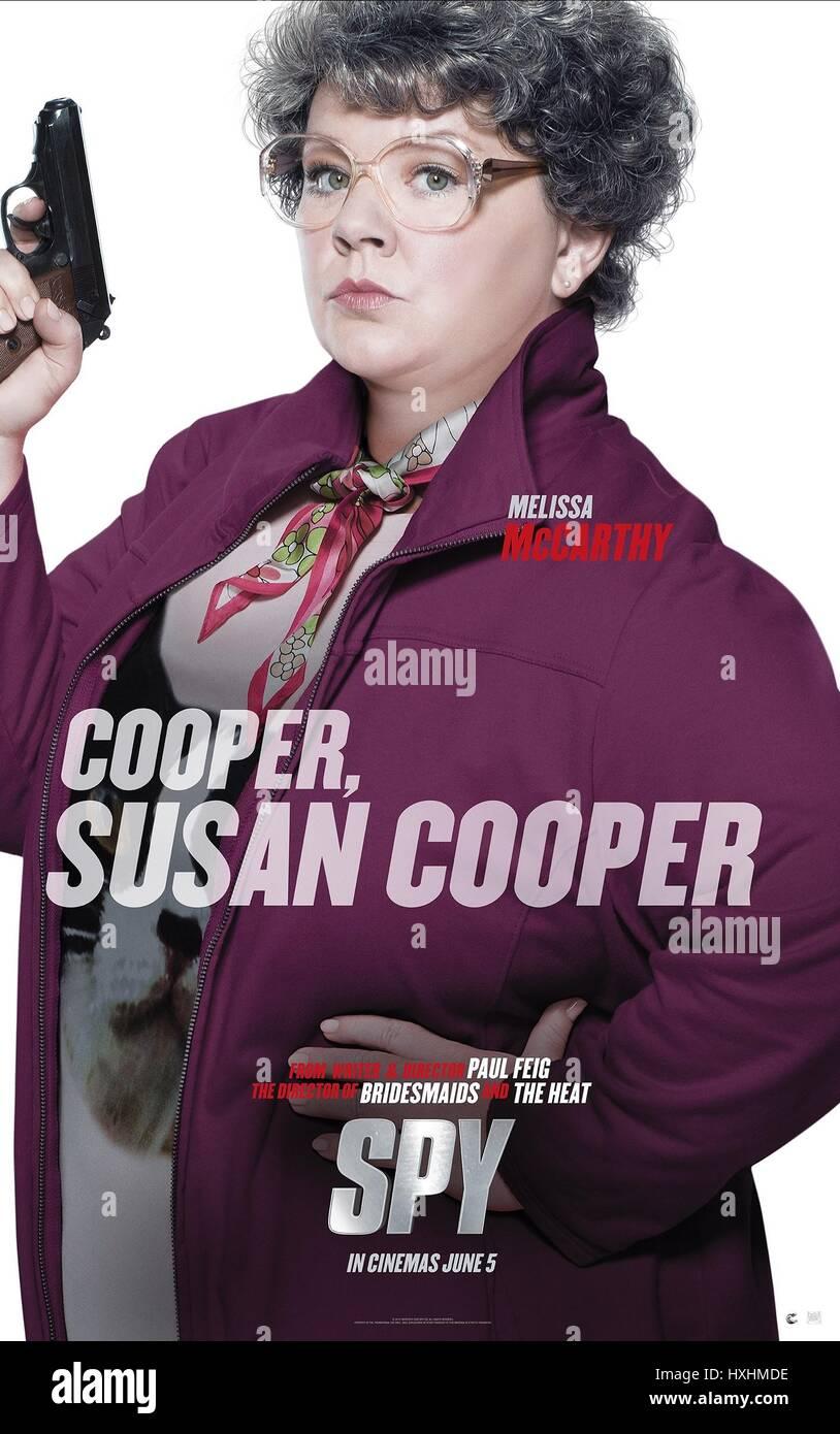 Melissa Mccarthy Poster Spy 2015 Stock Photo Alamy