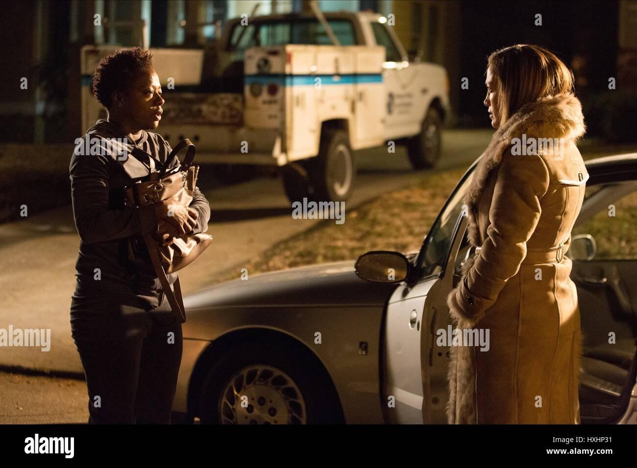 VIOLA DAVIS & JENNIFER LOPEZ LILA & EVE (2015) - Stock Image