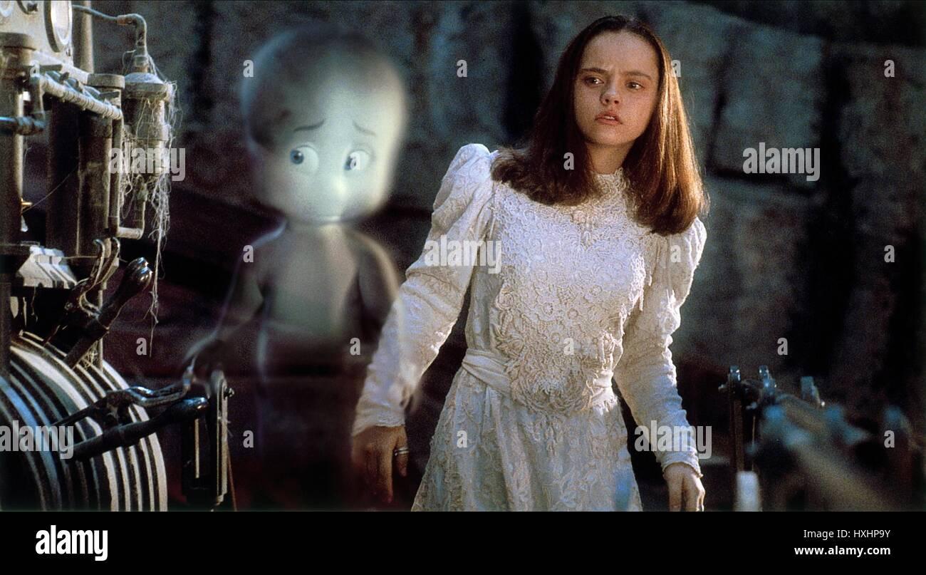 Christina Ricci Casper 1995 Stock Photo Alamy