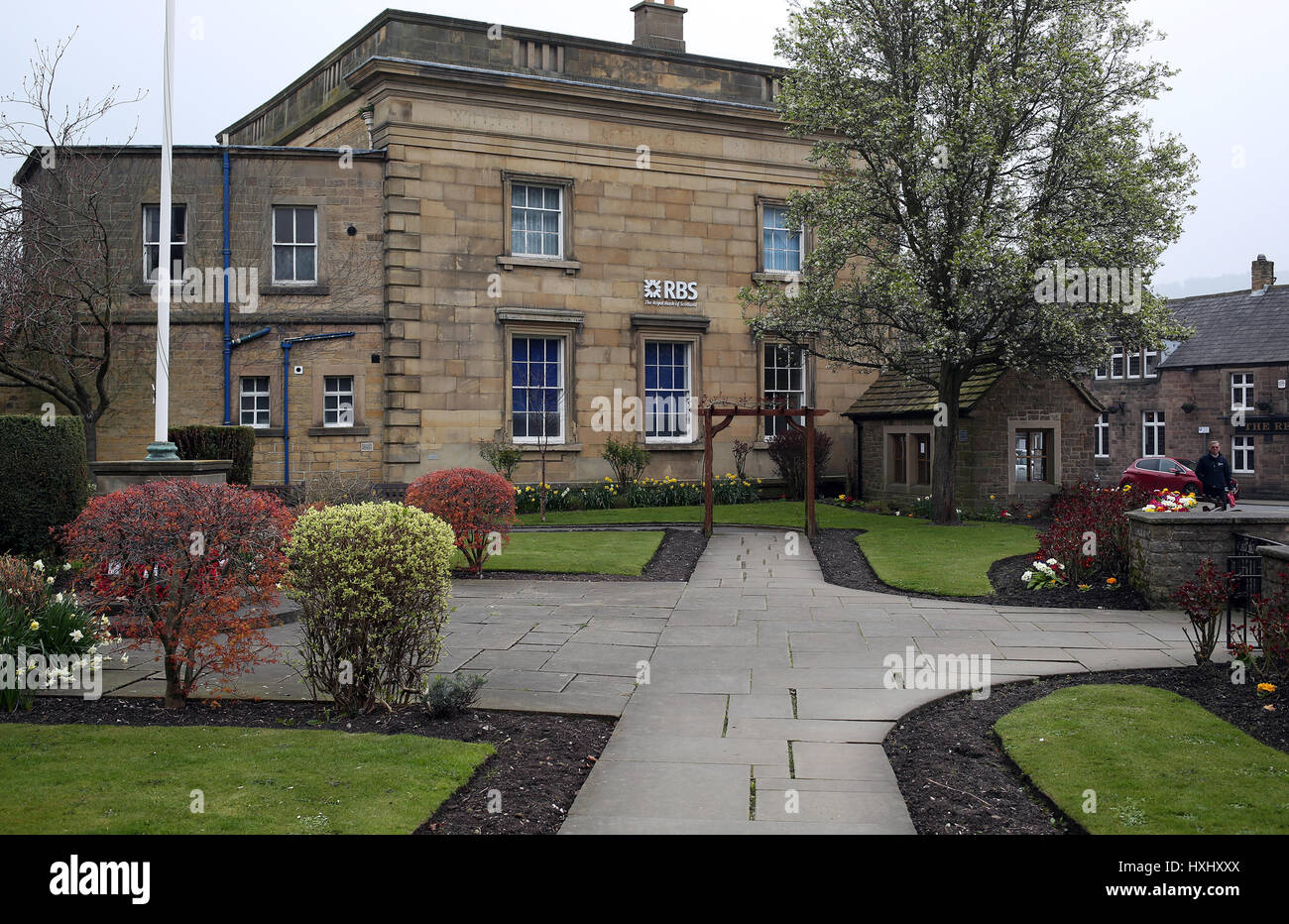 Royal Bank of Scotland Bakewell town Derbyshire - Stock Image