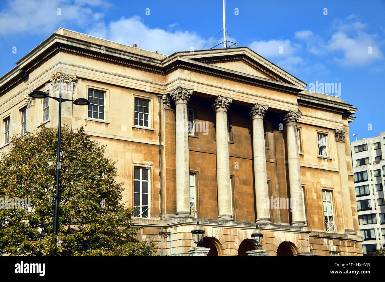 London, UK, October, 19 2007 : Apsley House also known as Number One was the  residence of The Duke of Wellington - Stock Image