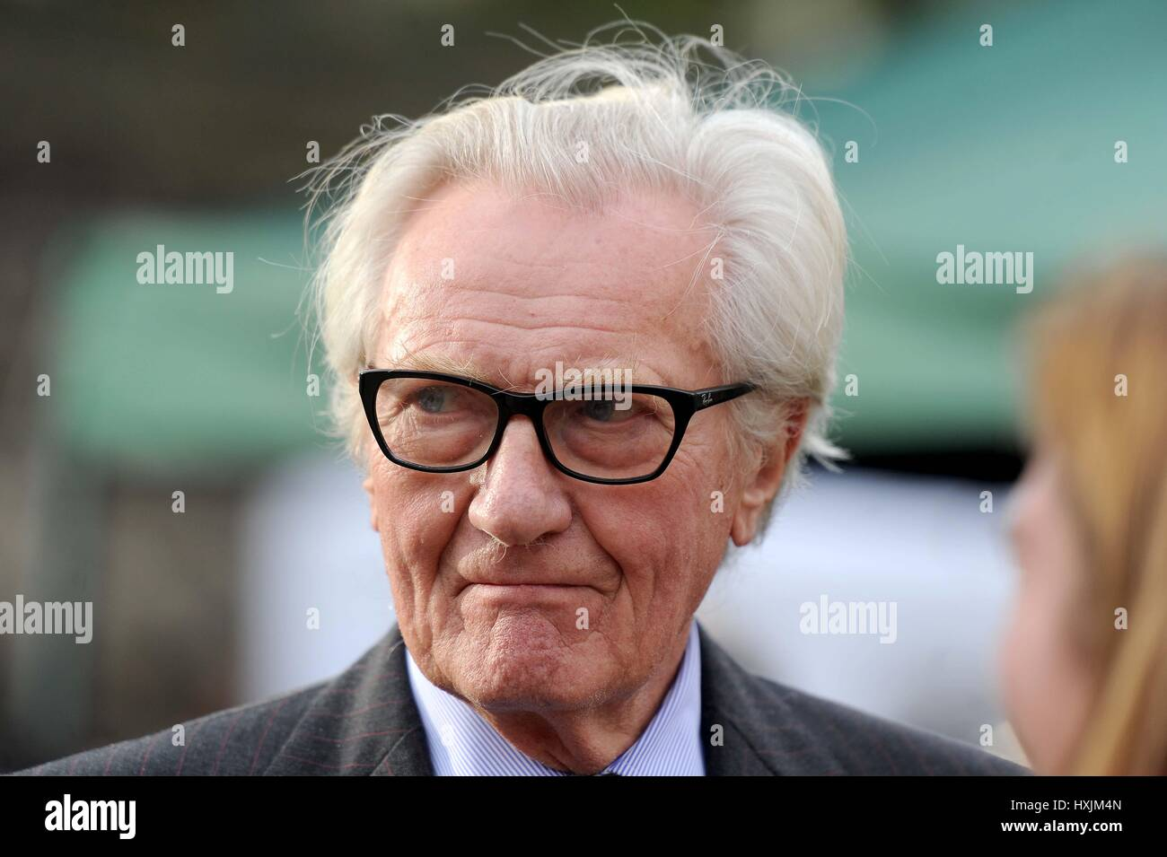 Michael Heseltine MP, Credit: Finnbarr Webster/Alamy Live News - Stock Image