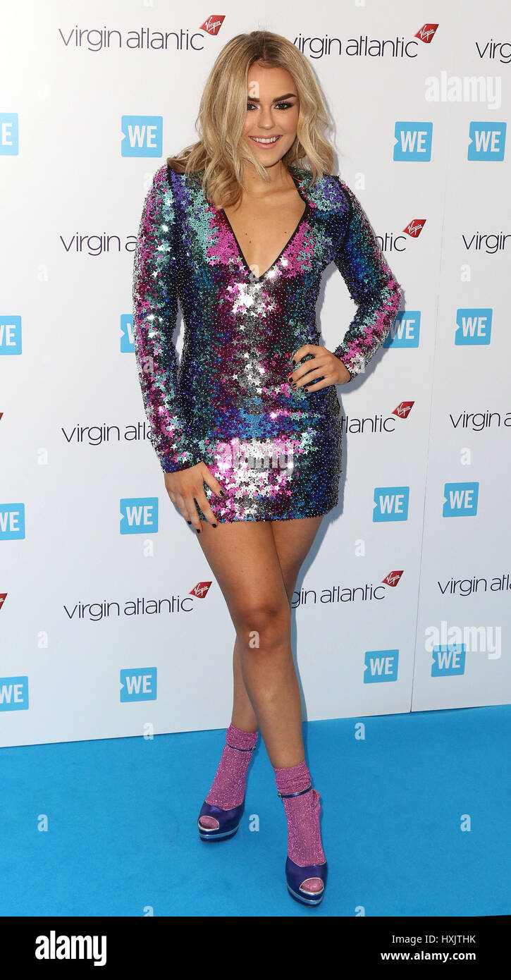 Mar 22, 2017 - Tallia Storm attending WE Day 2017, SSE Wembley Arena in London, England, UK - Stock Image