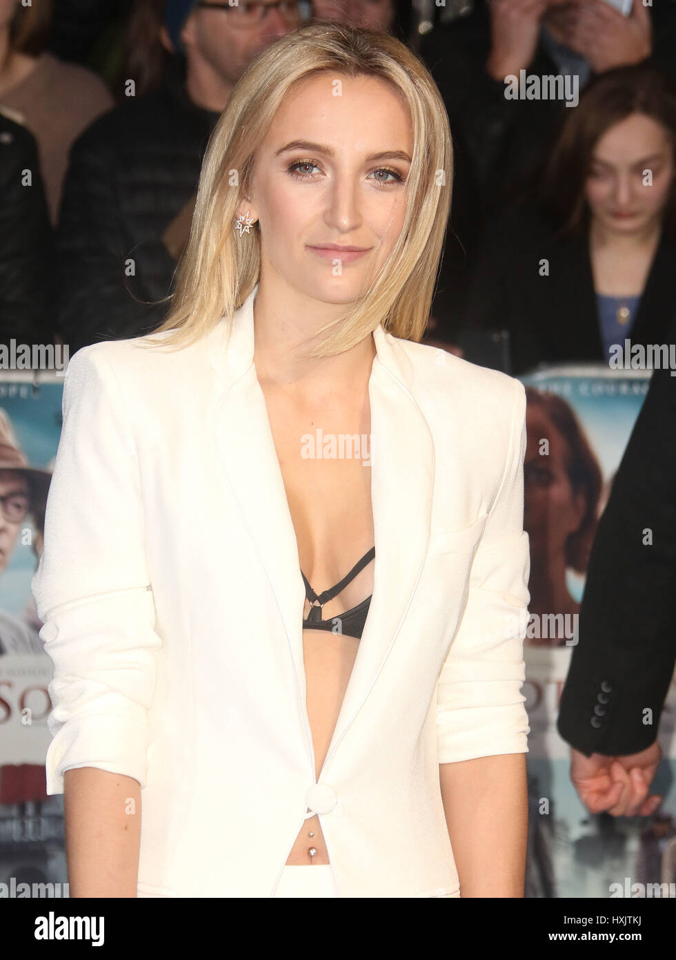 Mar 16, 2017 - Tiffany Watson attending Another Mother's Son' World Premiere, Odeon Leicester Square in - Stock Image