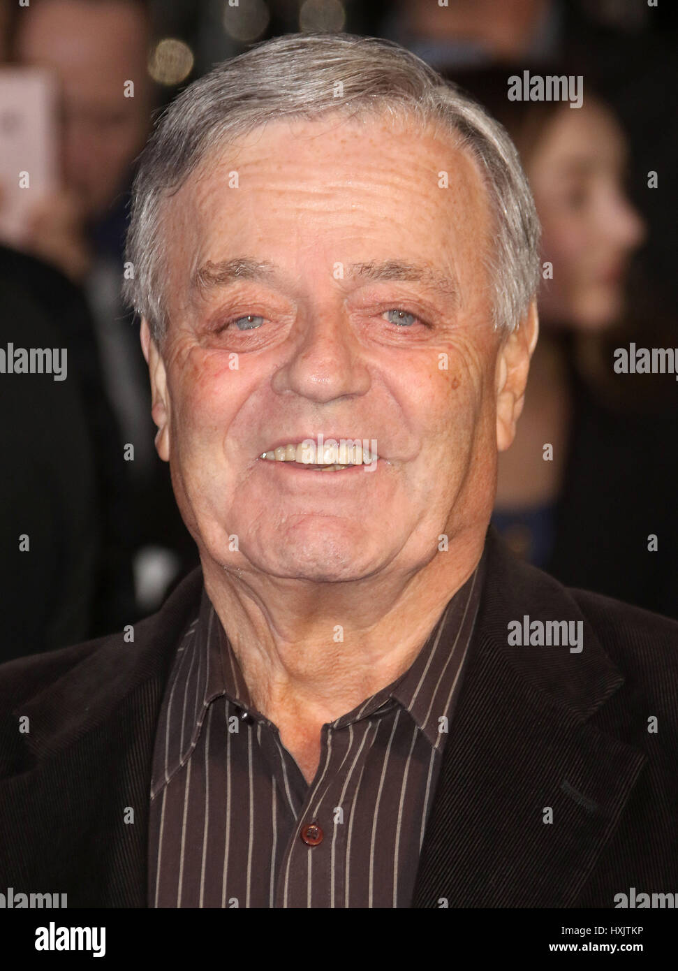 Mar 16, 2017 - Tony Blackburn attending Another Mother's Son' World Premiere, Odeon Leicester Square in - Stock Image