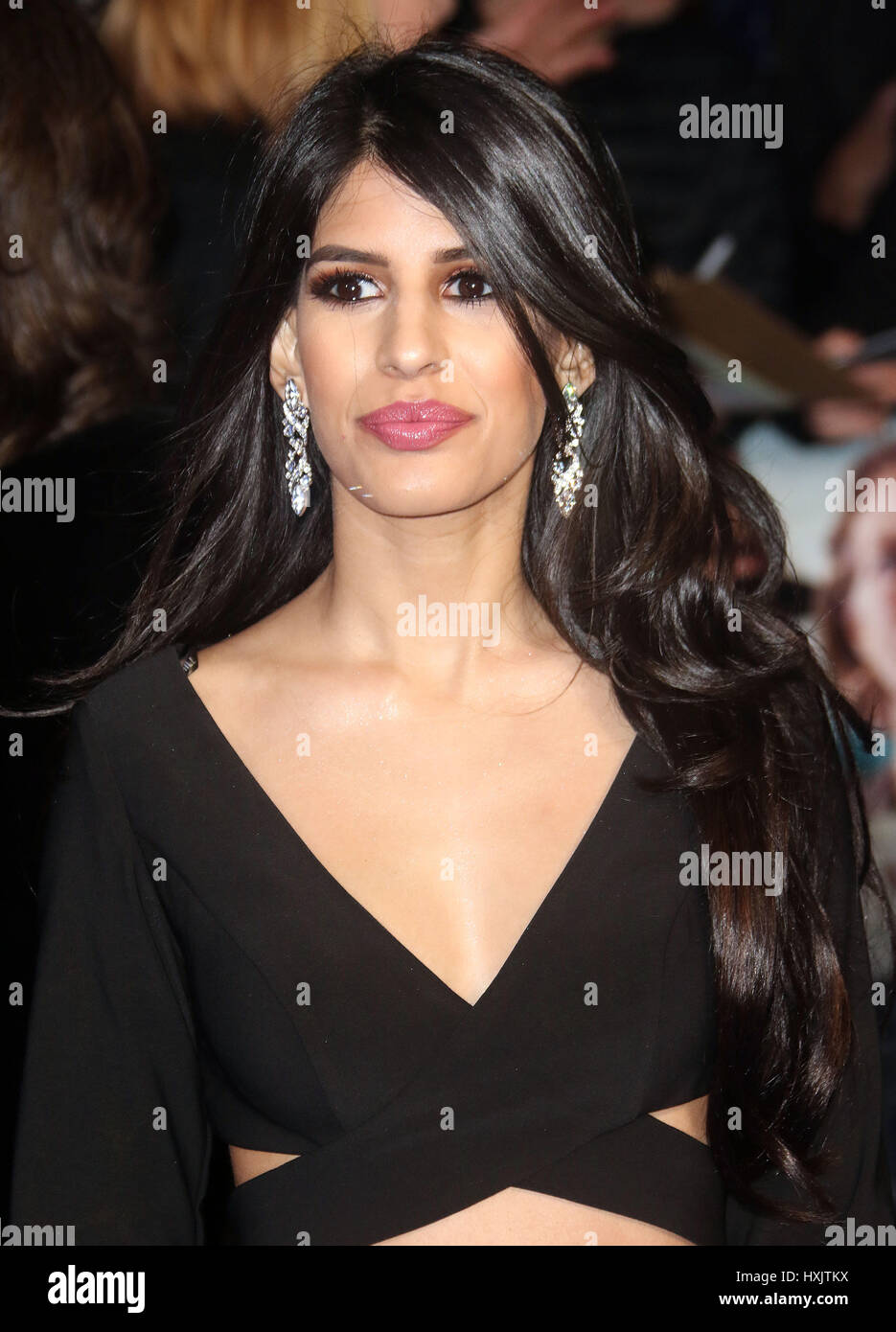 Mar 16, 2017 - Jasmin Walia attending Another Mother's Son' World Premiere, Odeon Leicester Square in London, - Stock Image