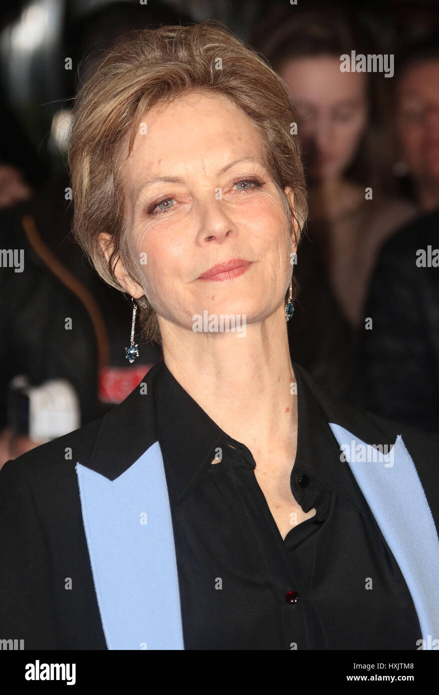 Mar 16, 2017 - Jenny Seagrove attending Another Mother's Son' World Premiere, Odeon Leicester Square in - Stock Image