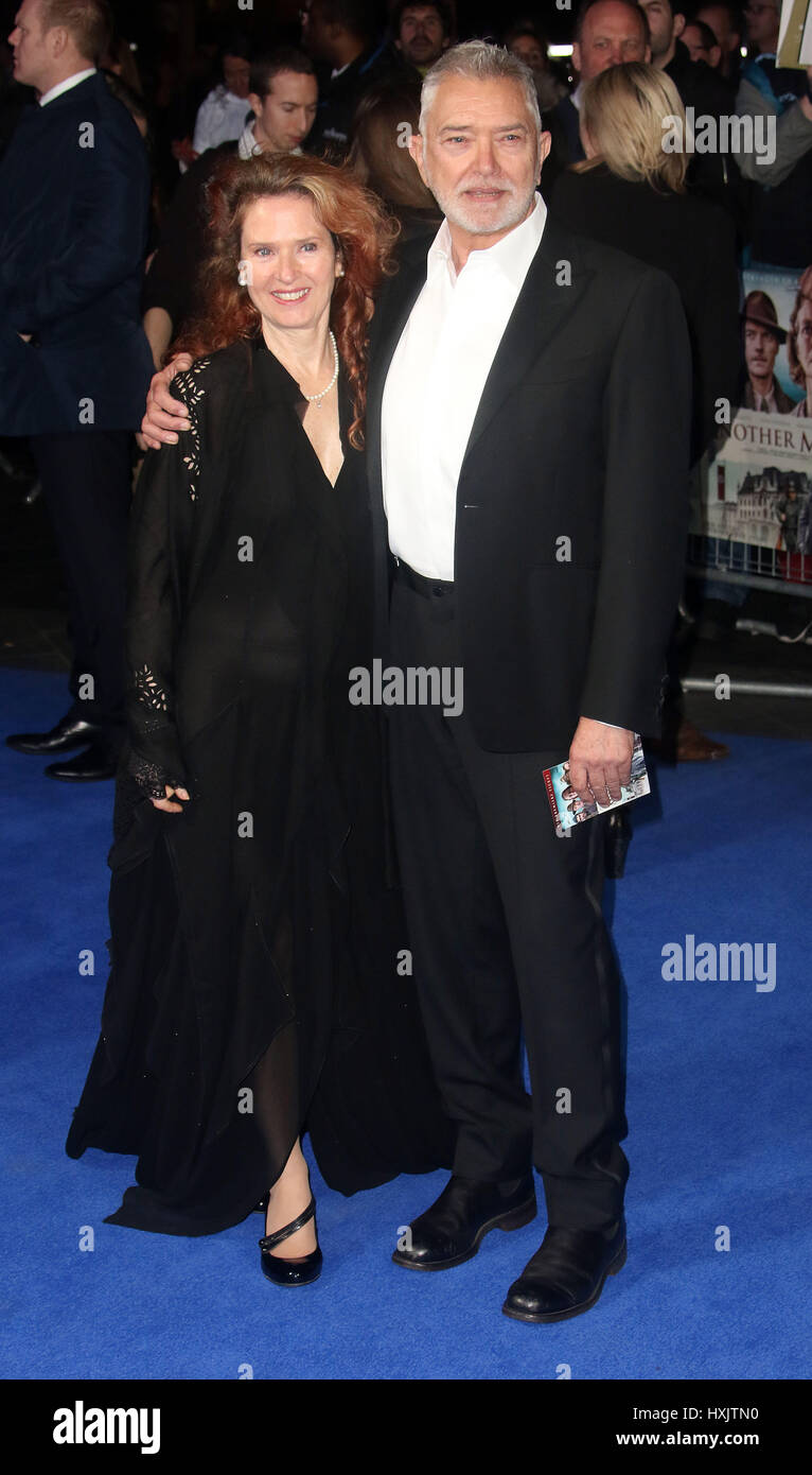 Mar 16, 2017 - Martin Shaw attending Another Mother's Son' World Premiere, Odeon Leicester Square in London, - Stock Image