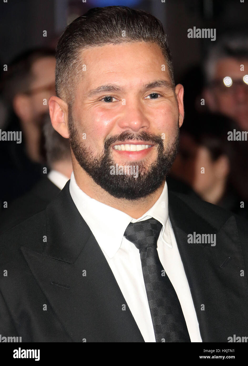 Mar 16, 2017 - Tony Bellow attending Another Mother's Son' World Premiere, Odeon Leicester Square in London, - Stock Image