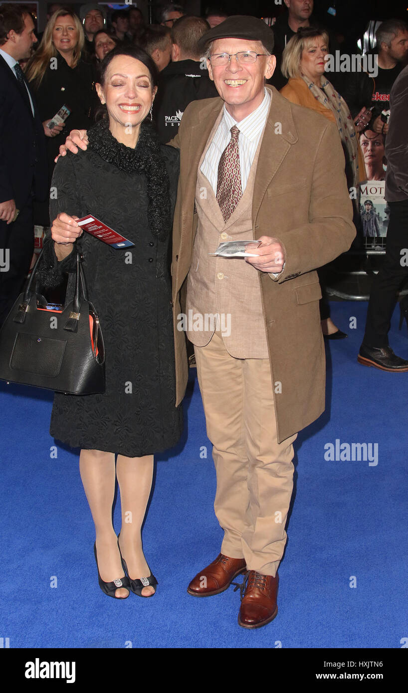 Mar 16, 2017 - Paul Nicholas attending Another Mother's Son' World Premiere, Odeon Leicester Square in London, - Stock Image
