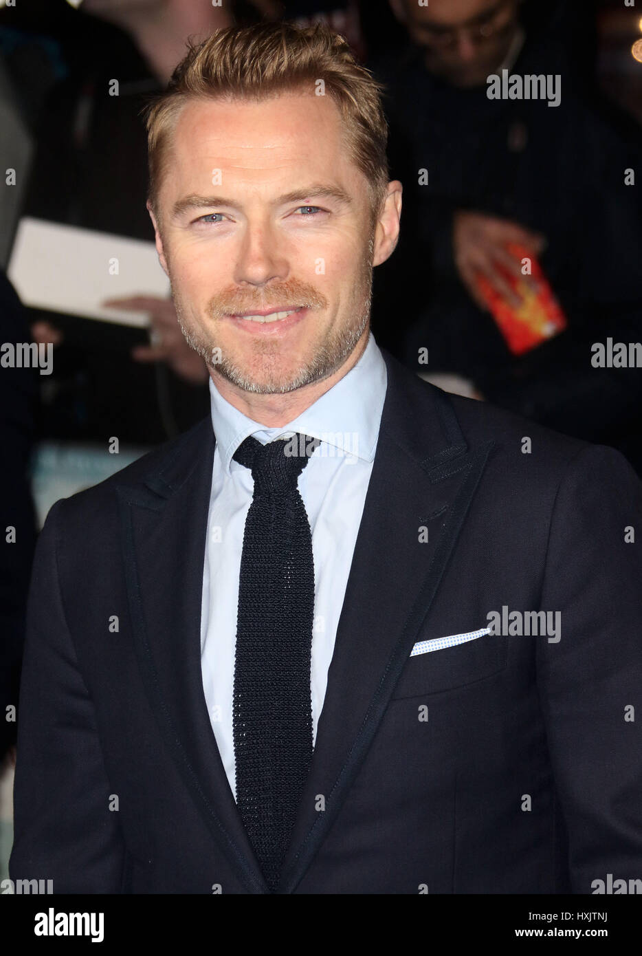 Mar 16, 2017 - Ronan Keating attending Another Mother's Son' World Premiere, Odeon Leicester Square in London, - Stock Image