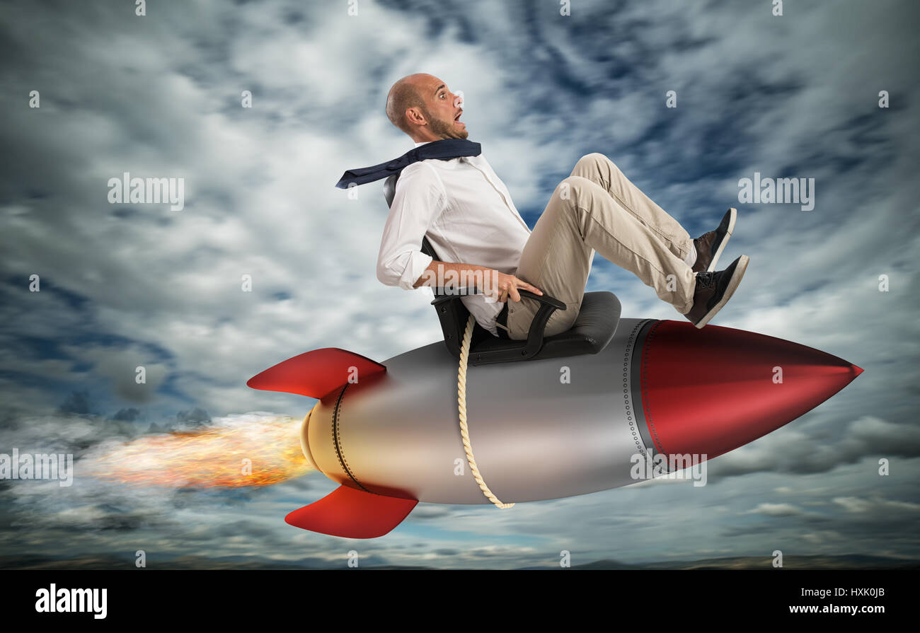 Increase the climb to success - Stock Image