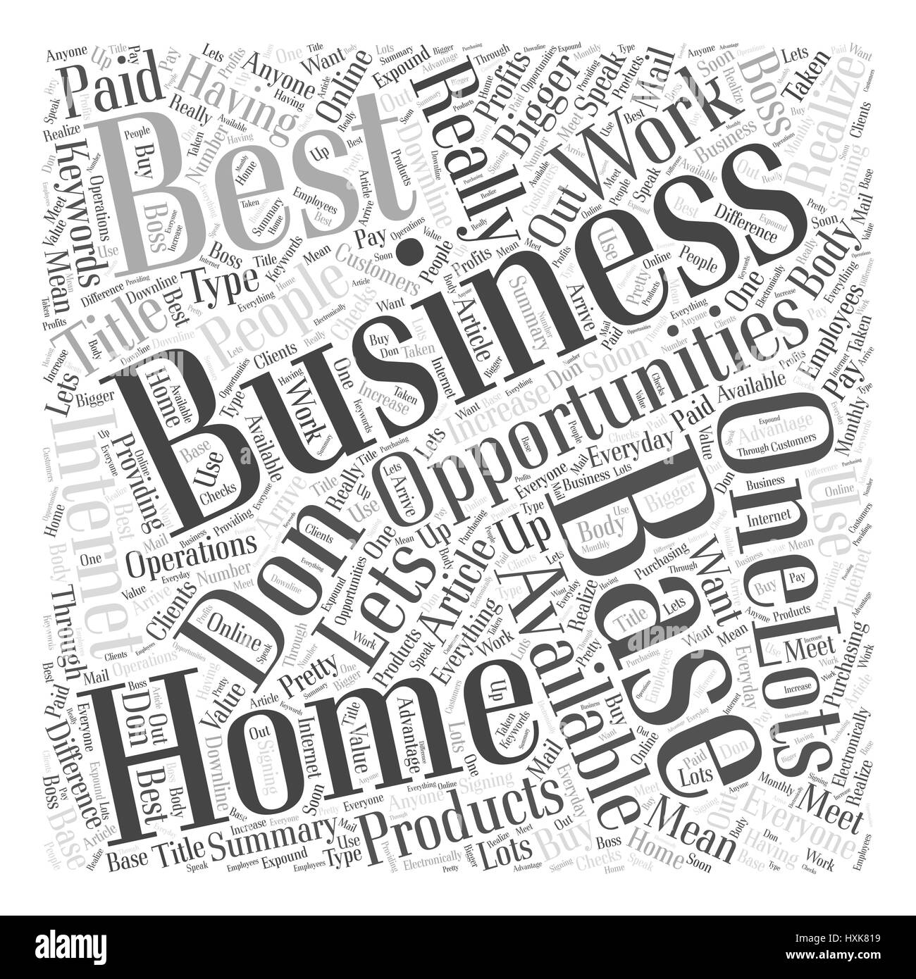Unique Top Home Based Business Opportunities Illustration - Home ...