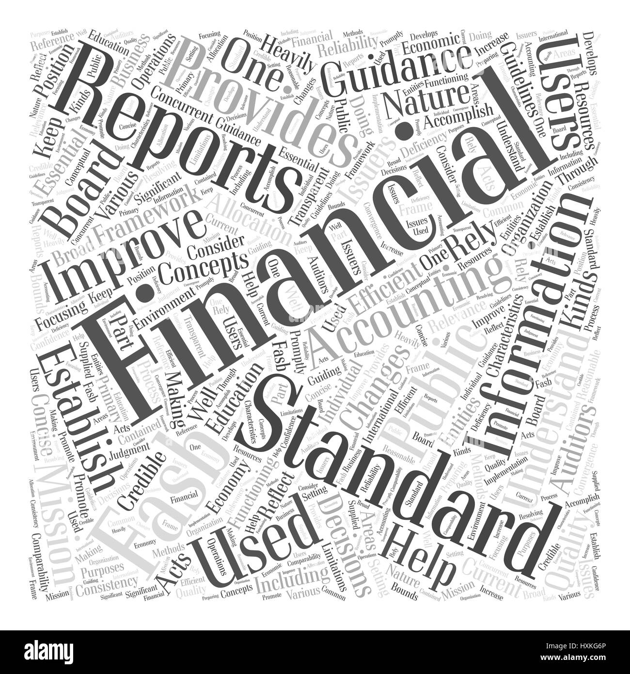 concept of accounting standards