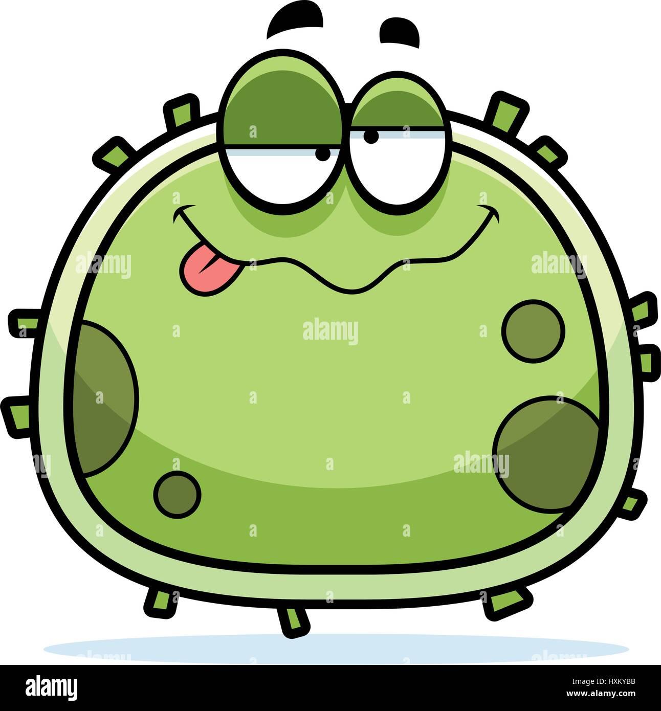 a cartoon illustration of a germ looking drunk stock vector art rh alamy com german clipart gem clip art free