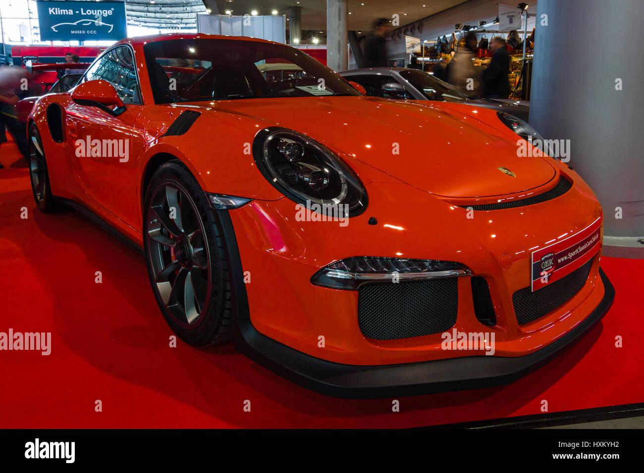 Porsche Gt3 Rs Stock Photos Amp Porsche Gt3 Rs Stock Images