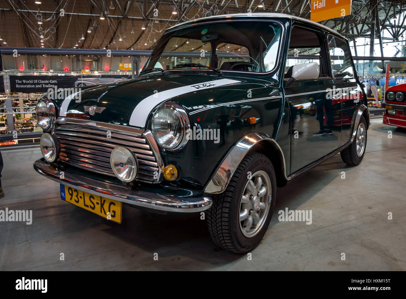 STUTTGART, GERMANY - MARCH 02, 2017: Small economy car Rover Mini ...
