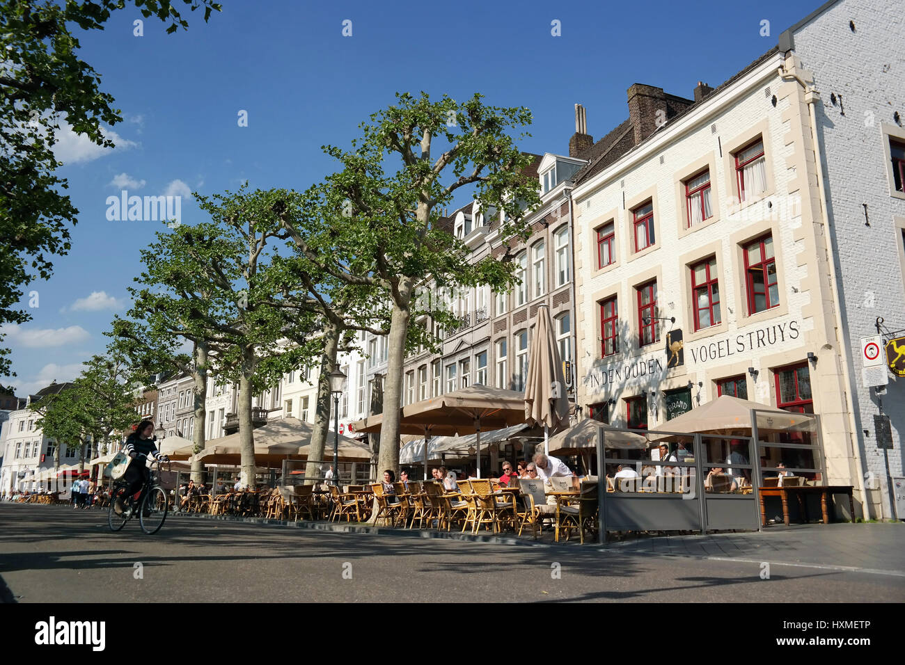 Vrijthof maastricht netherlands restaurant bar stock - Maastricht mobel ...