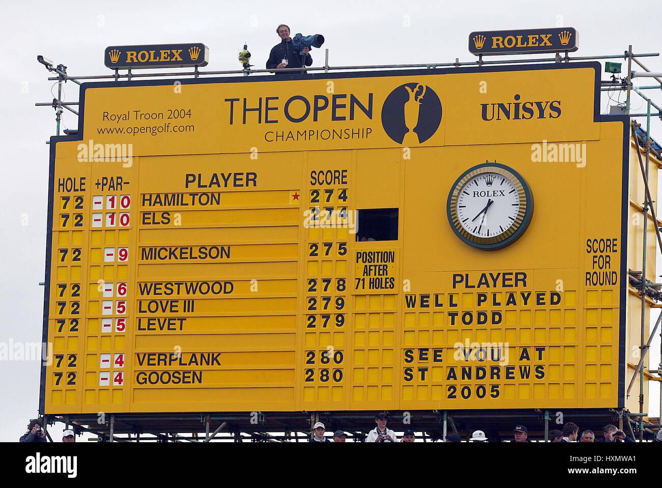 open scoreboard open championship scoreboard royal troon