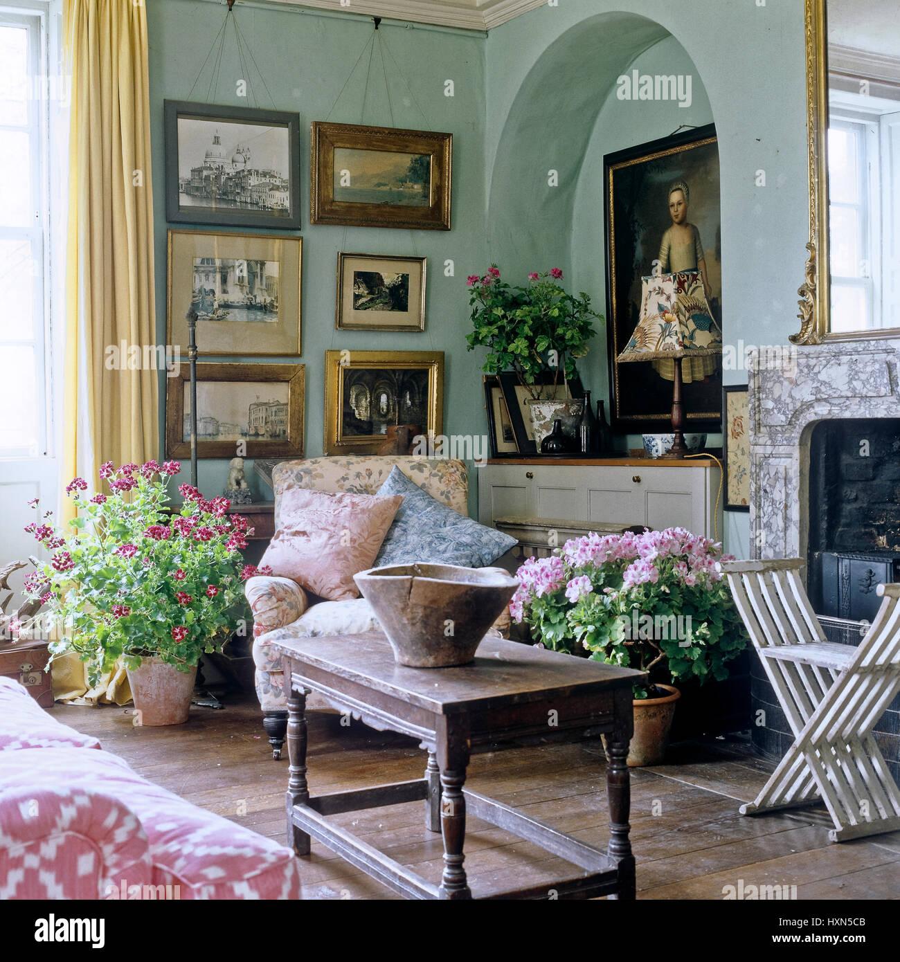 Wonderful Edwardian Style Living Room.