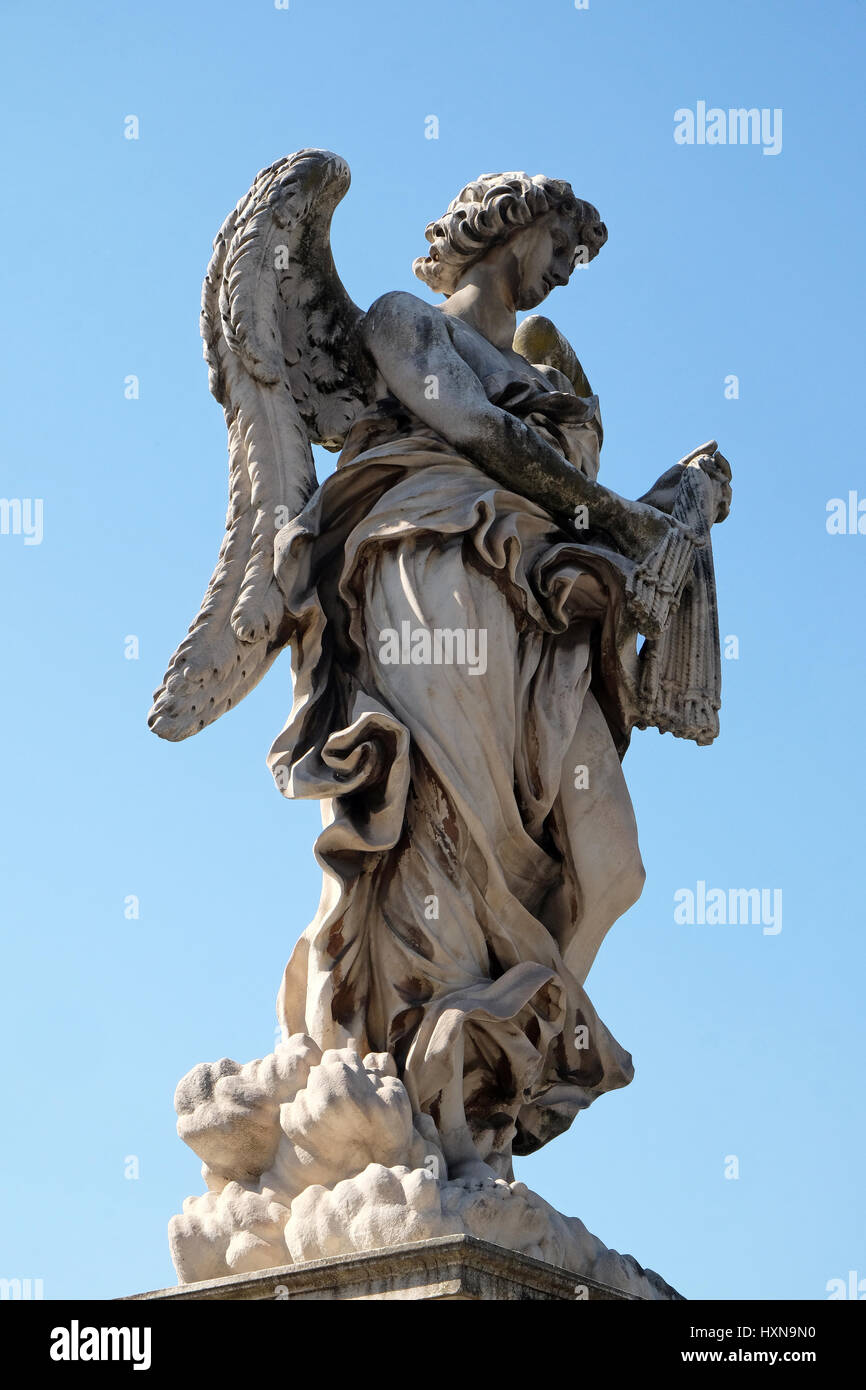 Statue of Angel with the Whips by Antonio Giorgetti, Ponte