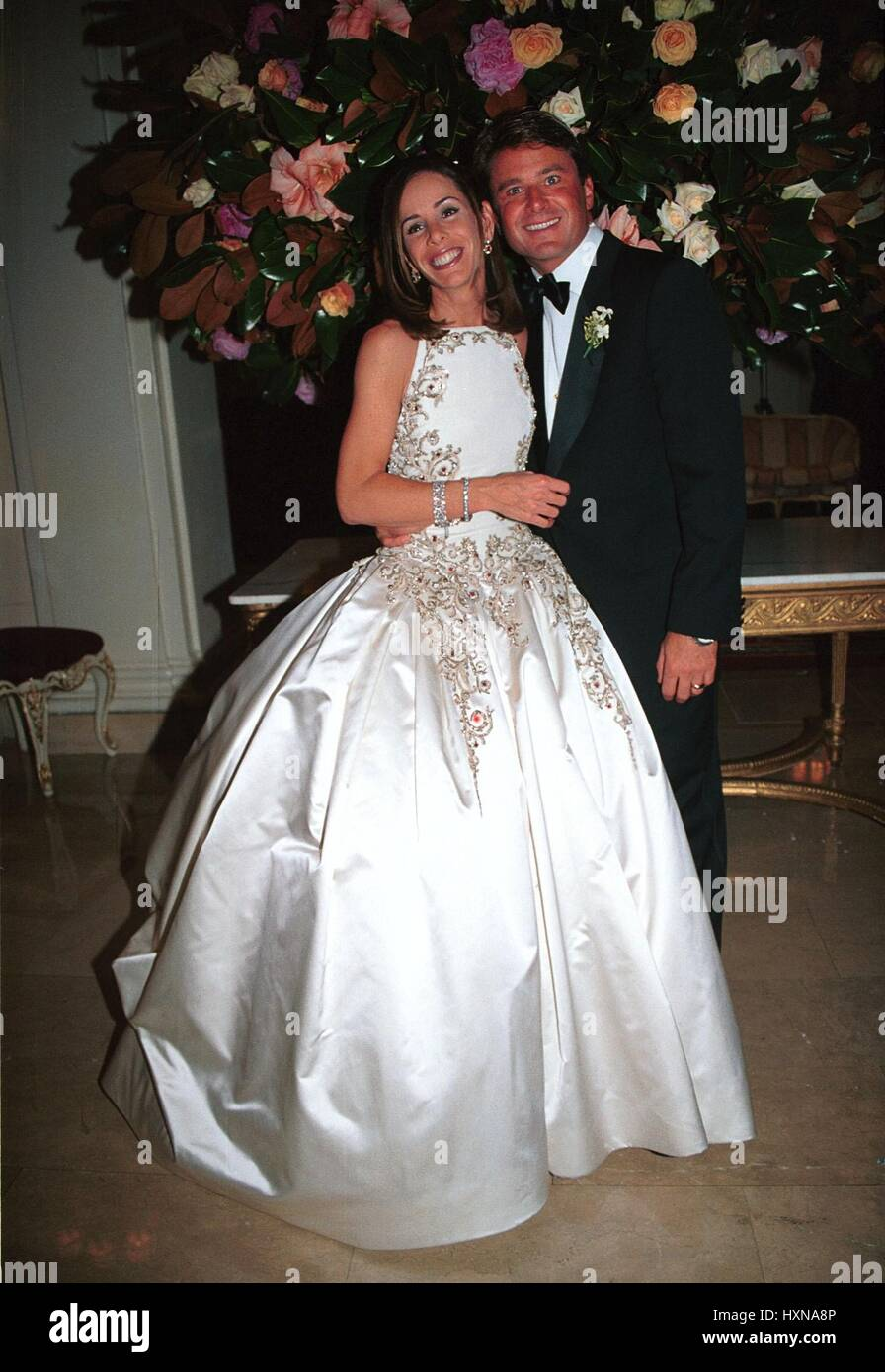 Melissa Rivers with her husband on their wedding day. © RTalensick ...